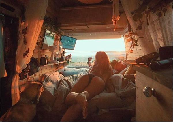 Vivir en una carabana