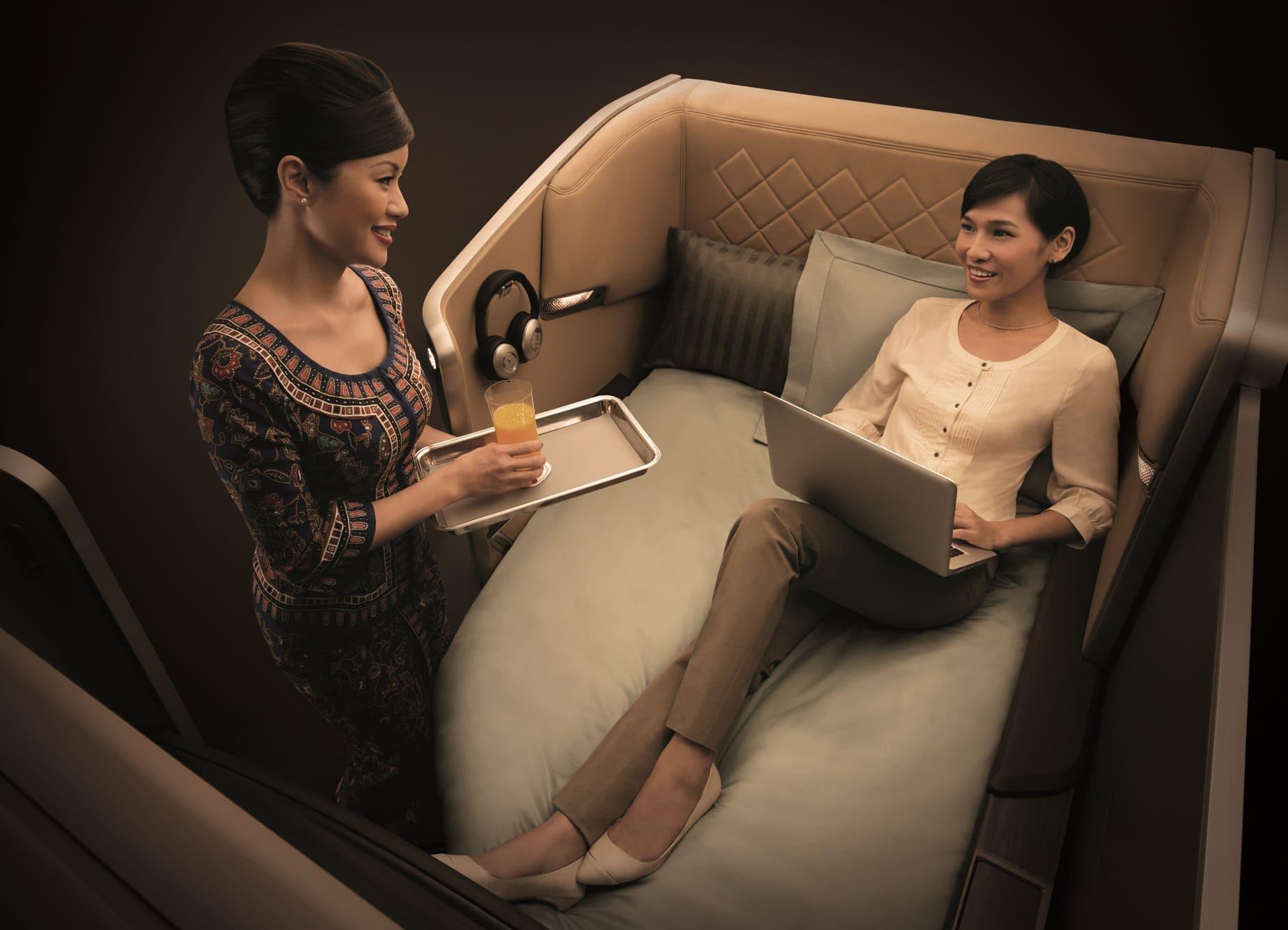 aerolíneas con mejor cabina de primera clase