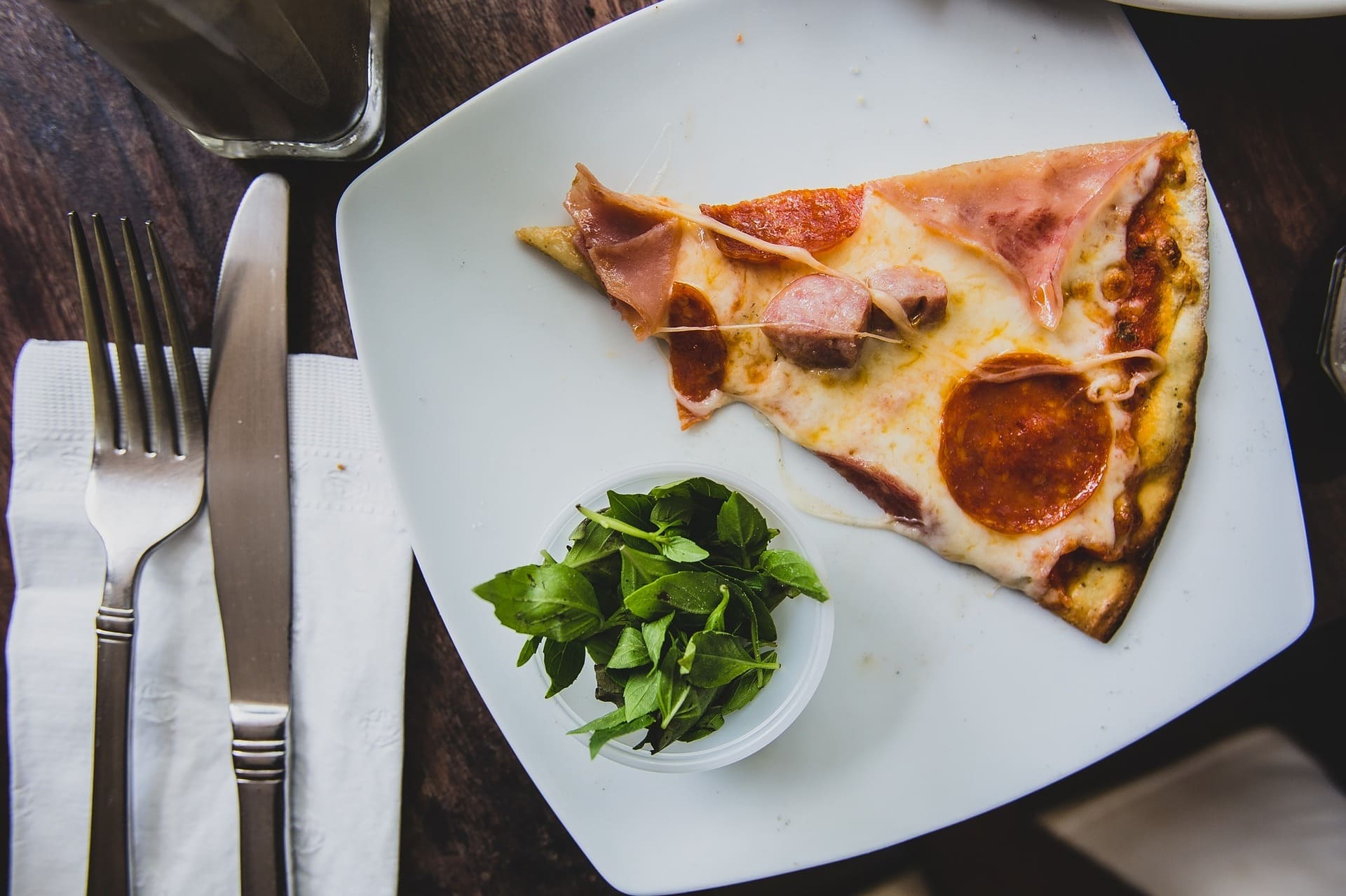 Desayunar pizza no es tan malo