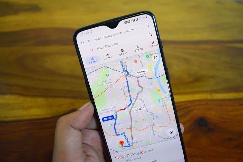 Google Maps te dirá si el autobús va lleno