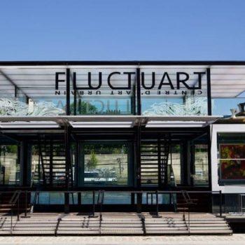 Fluctuart, el primer museo flotante