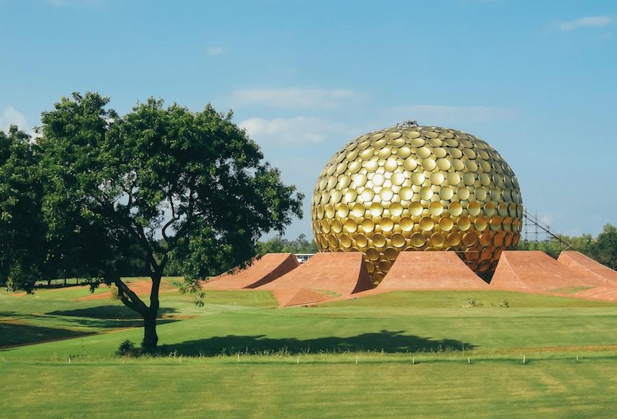 Auroville utopian city