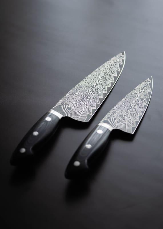 Cuchillos afilados