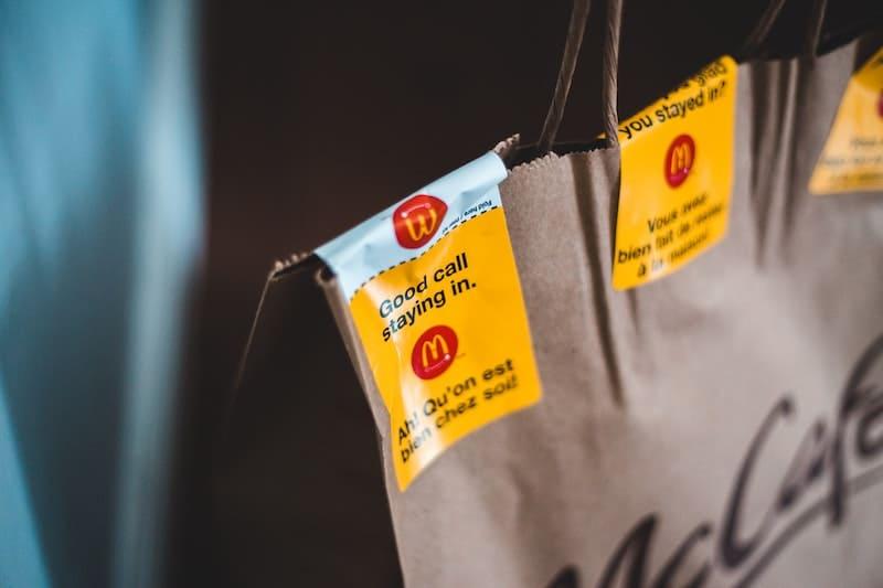 Bolsas de McDonalds