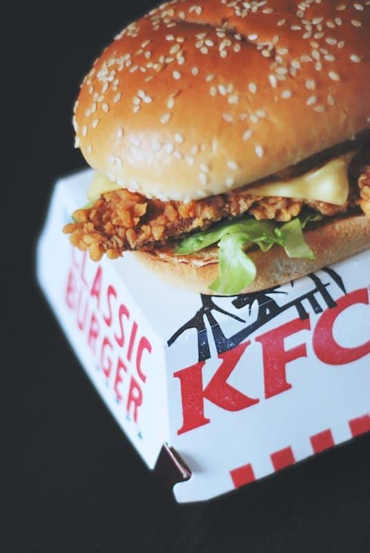 comida rápida de Kentucky