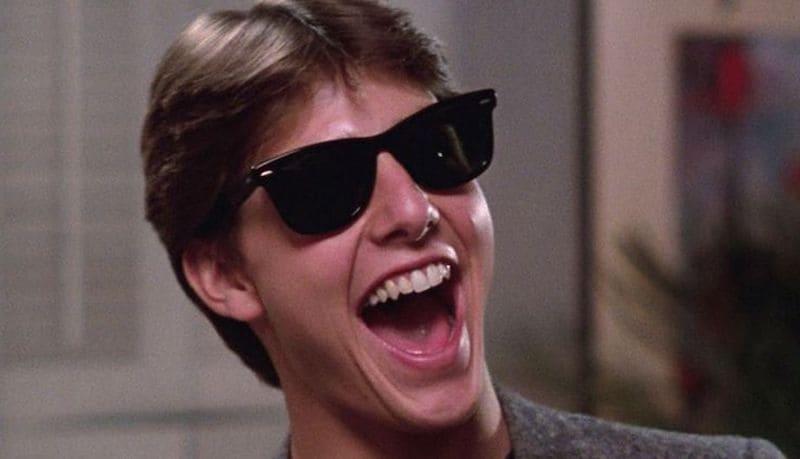 Tom Cruise en Risky Bussiness